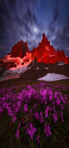 The Torch - Oregon's Broken Top peak. by Ryan Dyar.