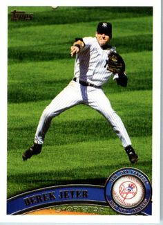 2011 Topps Baseball Card #330 Derek Jeter - New York Yankees - MLB Trading Card In A Protective Screwdown Case by Topps. $7.99. 2011 Topps Baseball Card #330 Derek Jeter - New York Yankees - MLB Trading Card In A Protective Screwdown Case