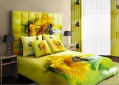 #yellow #sunflower #butterfly #beddingset  Buy link-->http://goo.gl/LpUWkN Discover more-->http://goo.gl/hVwpvb Live a better life,start with @beddinginn