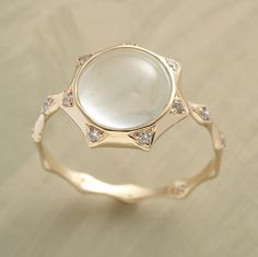 delicate cocktail ring.