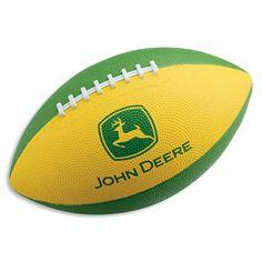 John Deere Trademark Football