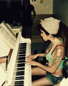the talented Amy Winehouse, R.I.P.