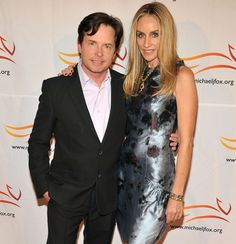 Michael J. Fox and Tracy Pollan.  Married 25 years.