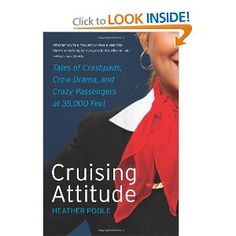 narrative about what it's really like to be a flight attendant, have to read esp since I'm on planes frequently!