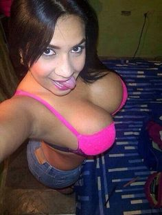 Busty Latina Self Shot