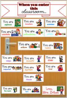 A Teacher's Treasure: Classroom Door Decore - Welcome Your Students  - Freebie