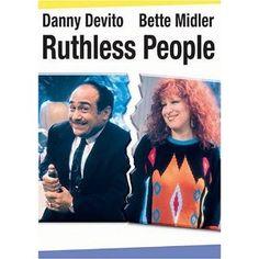 film, 80s, bette midler, danni devito, comedi, peopl 1986, ruthless people, bett midler, favorit movi
