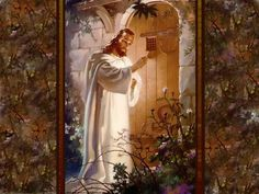 Jesus Picture Knocking At The Door Of Our Hearts