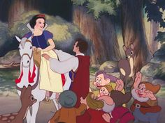 snow white prince charmings horse