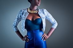 "Ghanaian fashion label Mina Evans 2012,the collection ""Finura""."