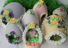 Panoramic Sugar Eggs, Posted on March 24, 2014.