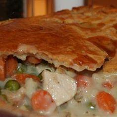 Tasty Chicken Pot Pie recipe