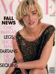 Tatjana Patitz - Vogue US, 1989