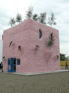 The Pink Pavilion by Gaetano Pesce