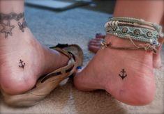 anchor friendship tattoo