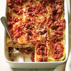 21 comfort food makeovers (now healthier) by Sunset Magazine.
