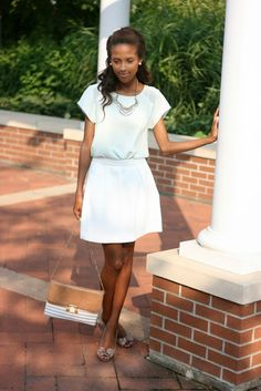 A classic and elegant look by @LuminousPrep #maxxinista