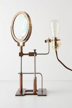 Magnifying Glass Lamp from anthropologie