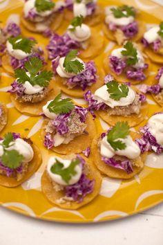 Mini Fish Tacos Recipe - wedding food