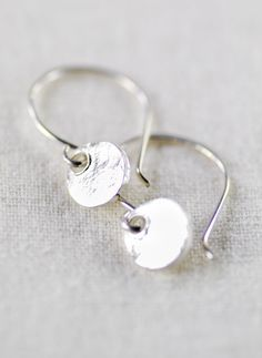 Alana earrings silver earrings everyday silver by kealohajewelry