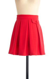 Picnic and Choose Skirt in Red