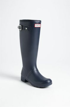 Hunter --> 'Tour' Packable Rain Boot (Women) available at #Nordstrom