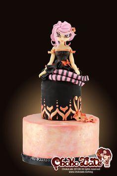 ChokoLate's cake - modeling chocolate