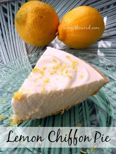 Easy Lemon Chiffon Pie!