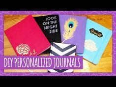DIY Personalized Journals - HGTV Handmade