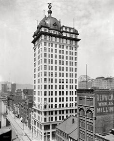 T.J. Keenan Building now the Midtown Towers - #pittsburgh