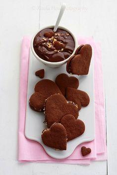Saint-Valentin cookies. saintvalentin, cooki, chocolat