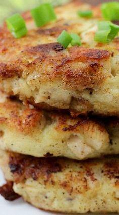 Mashed Potato & Stuffing Patties | Thanksgiving Leftovers