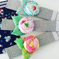 Rose Pincushion Cuffs by claralovestosew