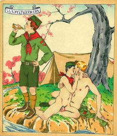 Scout Leisure, Male Nude Figure Drawing Fine Art Erotic gay nudist