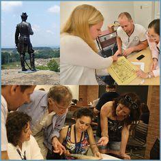 WEEKLONG SEMINARS FOR K–12 TEACHERS, SCHOOL LIBRARIANS, NATIONAL PARK SERVICE INTERPRETERS, AND MUSEUM EDUCATORS