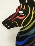 Artsonia Art Exhibit :: Zebra Color Wheel