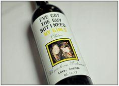 wines, asking bridesmaids, bridesmaid wine, wedding designs, wedding ideas