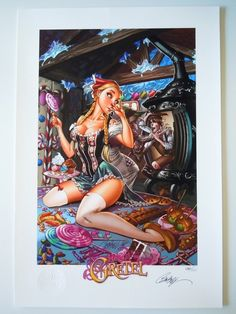 2012 Hansel & Gretel Fairytale Fantasies Comic Art