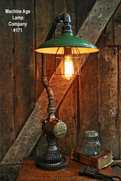 Steampunk Lamp Indus