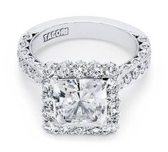 I heart this ring from TACORI! Style no: HT2605PR85