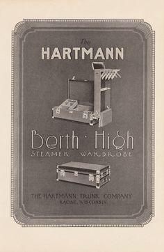 Berth High Steamer Wardrobe ad, c. 1920