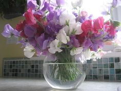 love sweetpeas - my favourite flower