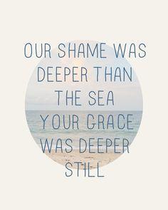 deeper still.