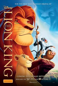 """The Lion King"" movie! It has a special meaning to us."