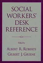 Social Worker's Desk Reference, 2nd edition @ R 361.3 So1 2009