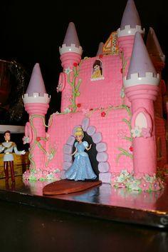Cinderella Birthday Cake.