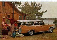 1960 Plymouth Sport Suburban Station Wagon