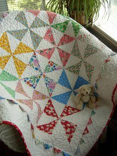 Grandma's Scrapbasket Baby Quilt