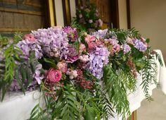 Decoración iglesia con flores - Floristería VerdePimienta