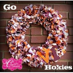 Virginia Tech wreath!
